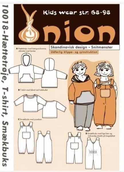 Bilde av Hettegenser, genser og snekkerbukse 6 mnd - 3 år